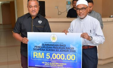 Skuad Ragbi Terengganu Terima Suntikan RM 5k