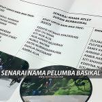 Senarai Nama Atlet Basikal Terengganu