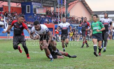 Ragbi Piala Agong: Terengganu Langkah Kanan