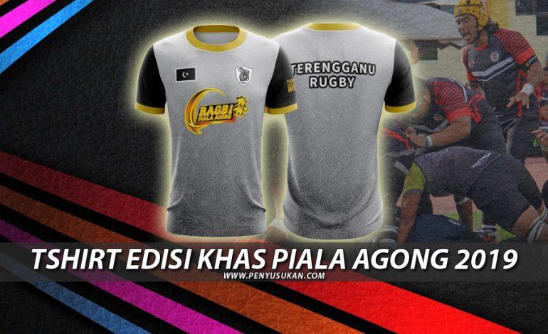 Tshirt Ragbi Terengganu: Edisi Khas Piala Agong 2019