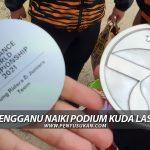 Anak Terengganu Naiki Podium Kuda Lasak Dunia