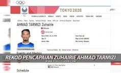 Rekod Perlumbaan Zuhairie Ahmad Tarmizi