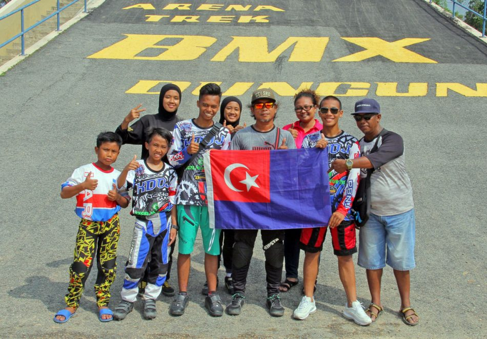 Kejohanan BMX Majlis Perbandaran Dungun 2018 - Pasukan Johor