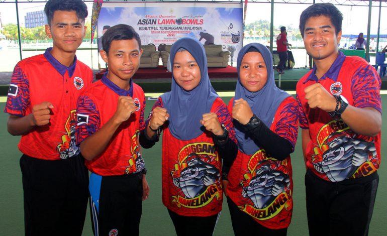 Pentas Asia Pengalaman Berharga Skuad Lawn Bowls SUKMA Terengganu