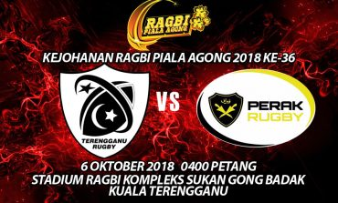 Ragbi Piala Agong Ke-36: Terengganu Tuan Rumah Membuka Tirai