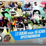 13 Acara Sukan 1545 Atlet Berentap SUTERA 2019