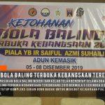 Sorotan Kejohanan Bola Baling Terbuka Kebangsaan Terengganu 2019