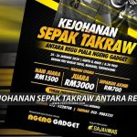 RM3000 Menanti Juara Kejohanan Sepak Takraw Antara Regu
