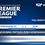 Liga Hoki Malaysia: Kad Kuning Pertama Iringi Kemenangan