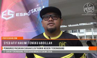 Pengurus Pasukan E-Sukan Terengganu Skuad SUKMA 2020
