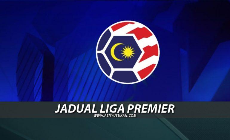 Jadual Liga Premier 2020