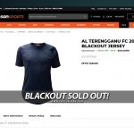 BLACKOUT SOLD OUT!