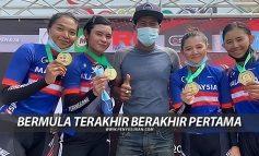 Kejohanan Kebangsaan Jalan Raya: Terengganu Bermula Terakhir Berakhir Pertama