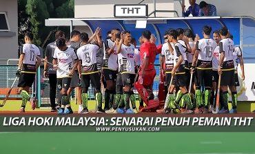 Liga Hoki Malaysia: Senarai Nama Pemain Terengganu Hockey Team
