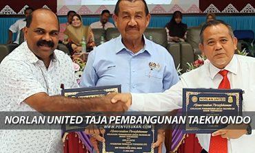 Norlan United Taja Pembangunan Taekwondo Terengganu