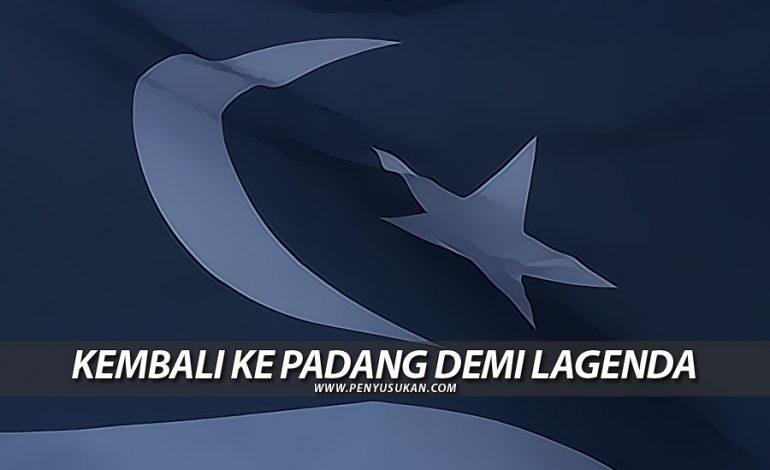 Kembali Ke Padang Demi Lagenda Terengganu