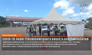COVID-19: Persatuan Ragbi Negeri Terengganu Sumbang Kanopi Di LPT 2
