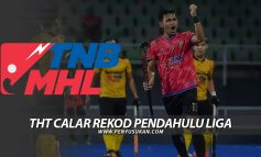 Liga Hoki Malaysia: THT Calar Rekod Pendahulu Liga