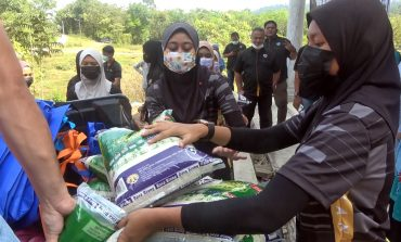 Sumbangan Ramadhan Kolaborasi Ragbi Terengganu-UiTM Dungun